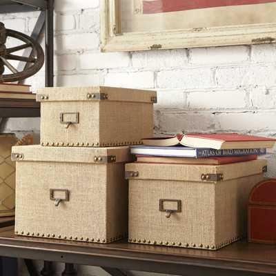 Ravenna Storage Boxesby Birch Lane - Wayfair