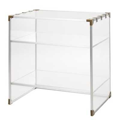Crystal Clear Nightstand - Land of Nod