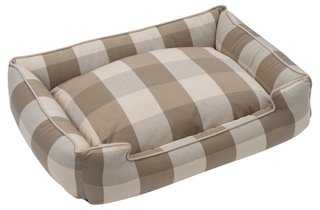 Puddy Lounge Pet Bed, Beige - One Kings Lane
