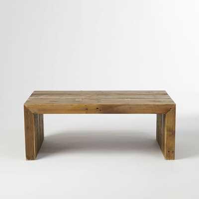 "Emmersonâ""¢ Reclaimed Wood Coffee Table - West Elm"