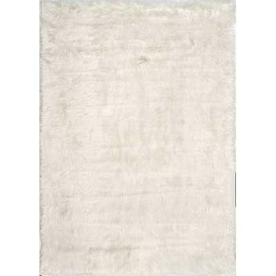 Block Island Cloud Shag White Area Rug - Wayfair