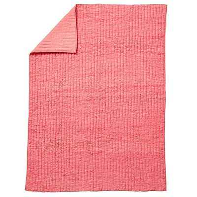 Twin Pink Go Lightly Quilt - Land of Nod