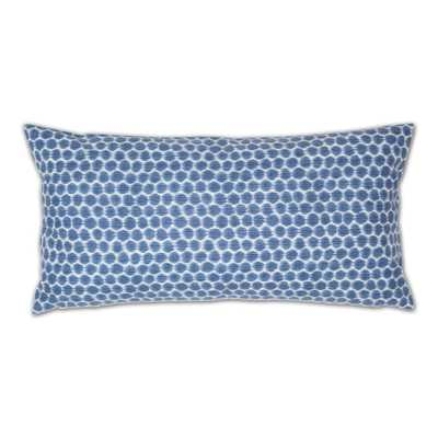 THE BLUE DOTS THROW PILLOW - Crane & Canopy