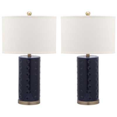 Safavieh Indoor 1-light Roxanne Table Lamp (Set of 2) - Overstock