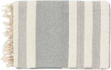 Hanover Cotton Throw - Ivory - Home Decorators
