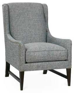 Miller Wingback Chair - One Kings Lane