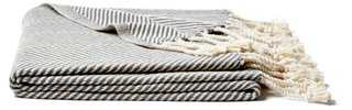 Herringbone Cotton Throw - One Kings Lane