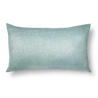 "Boucle Toss Pillow - 20""SQ - Silver - Target"