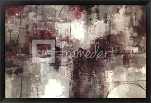 """Framed Artwork - 38""""x26""""-Framed - framedart.com"""