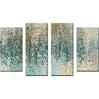 """4 Piece Painting Print on Wrapped Canvas Set - 30"""" x 56"""" - Unframed - Wayfair"""