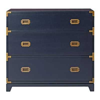 Campaign 3-Drawer Dresser (Midnight Blue) - Land of Nod