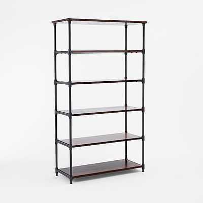 Pipe Bookcase - Wide - West Elm