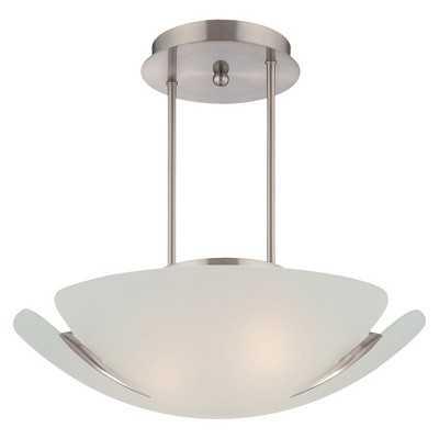 Lite Source Devona Semi-flush Mount Ceiling Light - Target