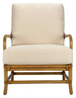 Ava Rattan Lounge Chair - One Kings Lane