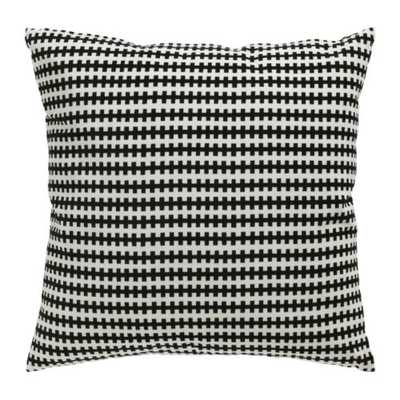 """STOCKHOLM- black/white-20 """"-with insert - Ikea"""
