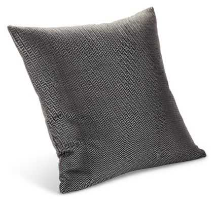 "Draper Pillows -Charcoal - 20""x20"" - Feather/Down fill insert - Room & Board"