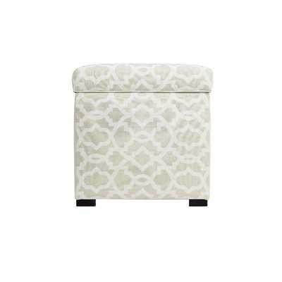 Sheffield Upholstered Storage Ottoman - Wayfair