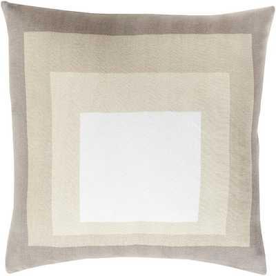 "Cotton Throw Pillow I - 20""H x 20""W - down insert - AllModern"