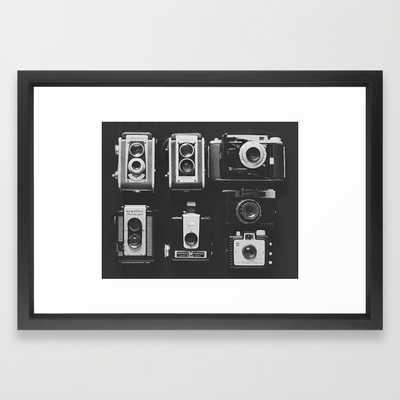 "The Vintage Family- 21"" x 15""- Framed - Society6"