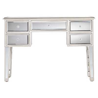 Tobias Mirrored Desk - Target