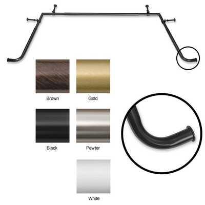 Bay Window 5/8-inch Adjustable Rod Set - Overstock