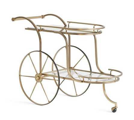 Ken Fulk Admiral Bar Cart - Pottery Barn