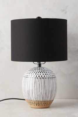 Uteki Painted Lamp Ensemble - Small - Anthropologie