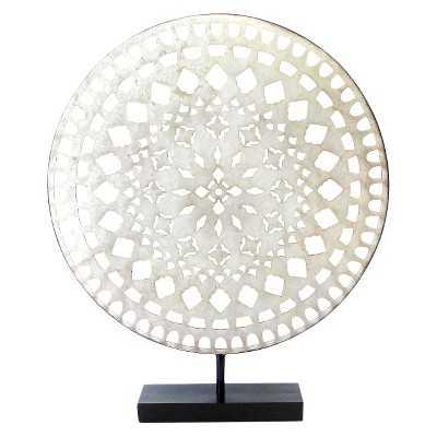 Decorative Medallion - Silver - Target
