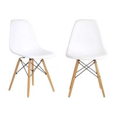 Slope Shell Side Chair - Set of 2 - AllModern