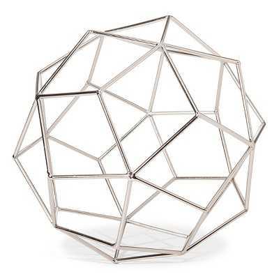 "Thresholdâ""¢ Metal Wire Decorative Figurine Large Silver - Target"