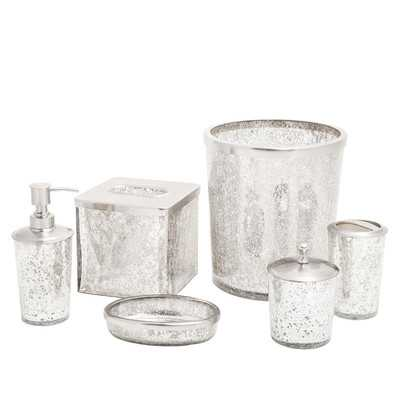 Ice 6 Piece Bath Accessory Setby Paradigm Trends - Wayfair