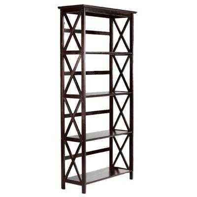 Montego 4-Shelf Bookshelf - Home Depot