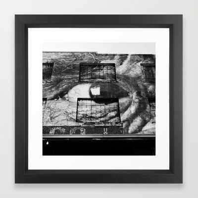 Eye on L.A. FRAMED ART PRINT - Society6
