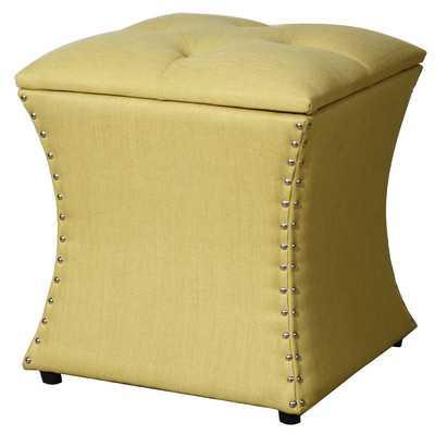 Amelia Upholstered Storage Ottoman - Wayfair