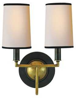 Elkins Double Sconce - One Kings Lane