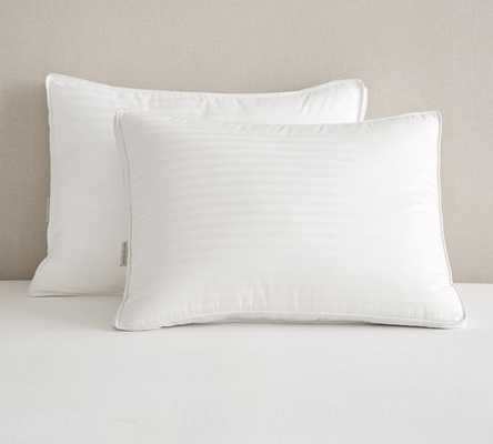 Classic Down Guessett Pillow -King-White-With insert - Pottery Barn