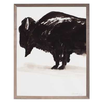 BISON - 33' H x 26' W - Framed - Dwell Studio