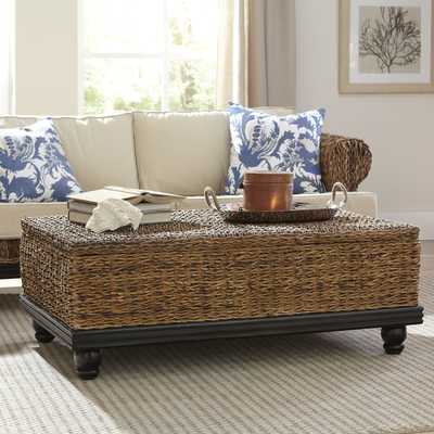 Esmont Woven Coffee Table - Birch Lane