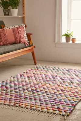 Magical Thinking Triangle Chindi Rag Rug - Multi, 8x10 - Urban Outfitters