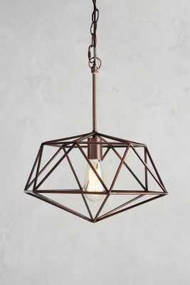 Euclidean Pendant, Diamond-Copper - Anthropologie