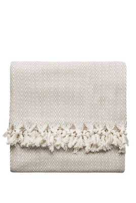 Natural New Cotton Blanket - Domino