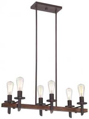 TAVERN 6-LIGHT CHANDELIER - Home Decorators