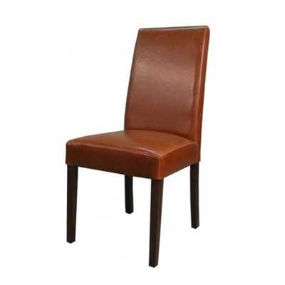 Olvera Leather Side Chair - Apt2B