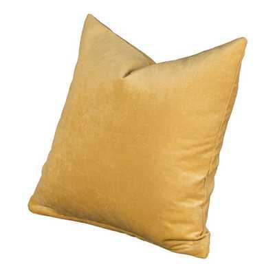 """Padma Throw Pillow - 26"""" H x 26"""" W x 7"""" D - Pollen - Polyester/Polyfill - AllModern"""
