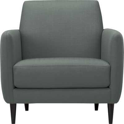 Parlour chair - taylor charcoal - CB2