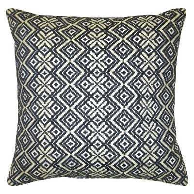 "Thresholdâ""¢ 18""x18"" Gold Metallic Decorative Pillow - Target"