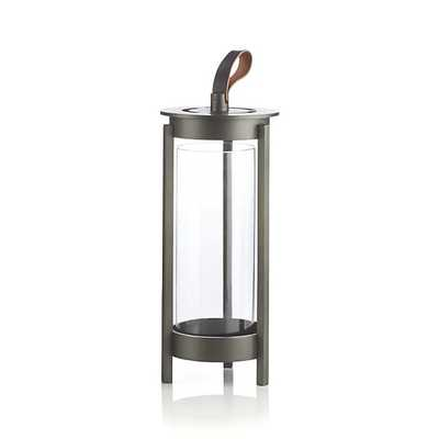 Carmel Metal Lantern - Small - Crate and Barrel