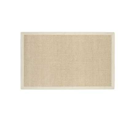 Chenille Jute Basketweave Rug - Natural - Pottery Barn