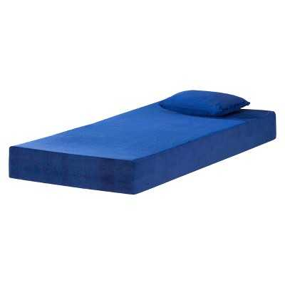 "Eco Dream 7"" Kids Memory Foam Mattress - Blueberry (Twin) - Target"