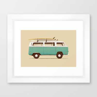 Blue Van - Society6